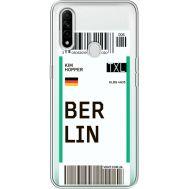 Силиконовый чехол BoxFace OPPO A31 Ticket Berrlin (39939-cc80)