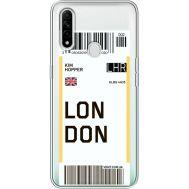 Силиконовый чехол BoxFace OPPO A31 Ticket London (39939-cc83)
