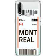Силиконовый чехол BoxFace OPPO A31 Ticket Monreal (39939-cc87)