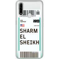 Силиконовый чехол BoxFace OPPO A31 Ticket Sharmel Sheikh (39939-cc90)