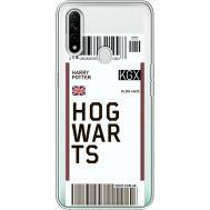 Силиконовый чехол BoxFace OPPO A31 Ticket Hogwarts (39939-cc91)