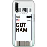 Силиконовый чехол BoxFace OPPO A31 Ticket Gotham (39939-cc92)