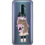 Силиконовый чехол BoxFace OPPO Reno2 Winter Morning Girl (38504-cc61)