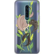 Силиконовый чехол BoxFace OPPO Reno2 Cute Mermaid (38504-cc62)