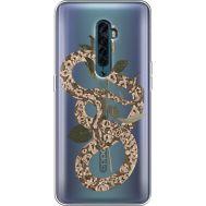 Силиконовый чехол BoxFace OPPO Reno2 Glamor Snake (38504-cc67)