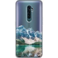 Силиконовый чехол BoxFace OPPO Reno2 Blue Mountain (38504-cc68)