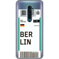 Силиконовый чехол BoxFace OPPO Reno2 Ticket Berrlin (38504-cc80)