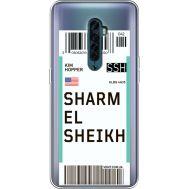 Силиконовый чехол BoxFace OPPO Reno2 Ticket Sharmel Sheikh (38504-cc90)