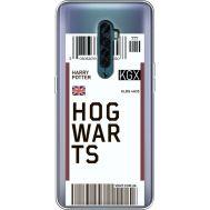 Силиконовый чехол BoxFace OPPO Reno2 Ticket Hogwarts (38504-cc91)
