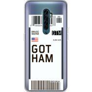Силиконовый чехол BoxFace OPPO Reno2 Ticket Gotham (38504-cc92)
