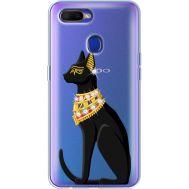 Силиконовый чехол BoxFace OPPO A5s Egipet Cat (938515-rs8)
