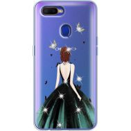 Силиконовый чехол BoxFace OPPO A5s Girl in the green dress (938515-rs13)