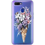 Силиконовый чехол BoxFace OPPO A5s Ice Cream Flowers (938515-rs17)