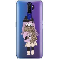 Силиконовый чехол BoxFace OPPO A9 2020 Winter Morning Girl (38525-cc61)