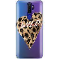 Силиконовый чехол BoxFace OPPO A9 2020 Wild Love (38525-cc64)