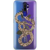 Силиконовый чехол BoxFace OPPO A9 2020 Glamor Snake (38525-cc67)