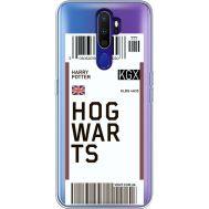 Силиконовый чехол BoxFace OPPO A9 2020 Ticket Hogwarts (38525-cc91)