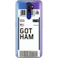 Силиконовый чехол BoxFace OPPO A9 2020 Ticket Gotham (38525-cc92)