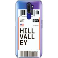 Силиконовый чехол BoxFace OPPO A9 2020 Ticket Hill Valley (38525-cc94)