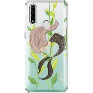 Силиконовый чехол BoxFace OPPO A31 Cute Mermaid (39939-cc62)