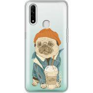 Силиконовый чехол BoxFace OPPO A31 Dog Coffeeman (39939-cc70)