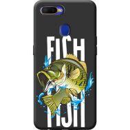 Силиконовый чехол BoxFace OPPO A5s Fish (40394-bk71)