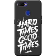 Силиконовый чехол BoxFace OPPO A5s hard times good times (40394-bk72)