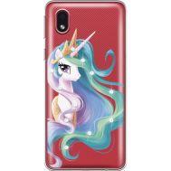 Силиконовый чехол BoxFace Samsung A013 Galaxy A01 Core Unicorn Queen (940877-rs3)
