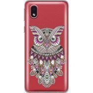 Силиконовый чехол BoxFace Samsung A013 Galaxy A01 Core Owl (940877-rs9)