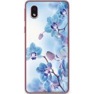 Силиконовый чехол BoxFace Samsung A013 Galaxy A01 Core Orchids (940877-rs16)