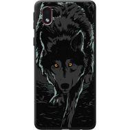 Силиконовый чехол BoxFace Samsung A013 Galaxy A01 Core Wolf (41183-bk62)