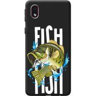 Силиконовый чехол BoxFace Samsung A013 Galaxy A01 Core fish (41183-bk71)