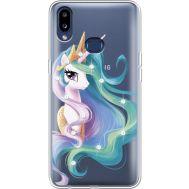 Силиконовый чехол BoxFace Samsung A107 Galaxy A10s Unicorn Queen (937945-rs3)
