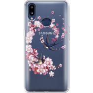 Силиконовый чехол BoxFace Samsung A107 Galaxy A10s Swallows and Bloom (937945-rs4)