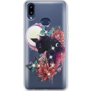 Силиконовый чехол BoxFace Samsung A107 Galaxy A10s Cat in Flowers (937945-rs10)