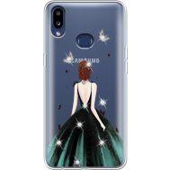 Силиконовый чехол BoxFace Samsung A107 Galaxy A10s Girl in the green dress (937945-rs13)