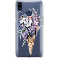 Силиконовый чехол BoxFace Samsung A107 Galaxy A10s Ice Cream Flowers (937945-rs17)