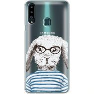 Силиконовый чехол BoxFace Samsung A207 Galaxy A20s MR. Rabbit (38126-cc71)