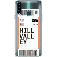 Силиконовый чехол BoxFace Samsung A207 Galaxy A20s Ticket Hill Valley (38126-cc94)