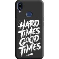 Силиконовый чехол BoxFace Samsung A107 Galaxy A10s hard times good times (38151-bk72)