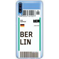 Силиконовый чехол BoxFace Samsung A705 Galaxy A70 Ticket Berrlin (36861-cc80)