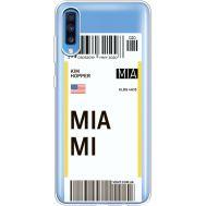 Силиконовый чехол BoxFace Samsung A705 Galaxy A70 Ticket Miami (36861-cc81)