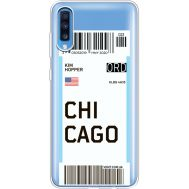 Силиконовый чехол BoxFace Samsung A705 Galaxy A70 Ticket Chicago (36861-cc82)