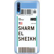 Силиконовый чехол BoxFace Samsung A705 Galaxy A70 Ticket Sharmel Sheikh (36861-cc90)