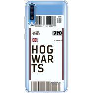 Силиконовый чехол BoxFace Samsung A705 Galaxy A70 Ticket Hogwarts (36861-cc91)