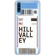 Силиконовый чехол BoxFace Samsung A705 Galaxy A70 Ticket Hill Valley (36861-cc94)