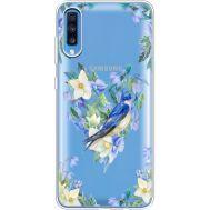 Силиконовый чехол BoxFace Samsung A705 Galaxy A70 Spring Bird (36861-cc96)