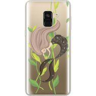 Силиконовый чехол BoxFace Samsung A530 Galaxy A8 (2018) Cute Mermaid (35014-cc62)