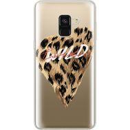 Силиконовый чехол BoxFace Samsung A530 Galaxy A8 (2018) Wild Love (35014-cc64)
