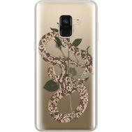 Силиконовый чехол BoxFace Samsung A530 Galaxy A8 (2018) Glamor Snake (35014-cc67)
